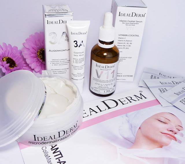 idealderm - Dermo-Kosmetik mit intensiv wirksamen Inhaltsstoffen