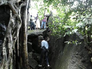 Route to Vazhvanthol Waterfalls is very adventurous