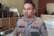 Polisi akan menindak tegas masyarakat yang berani melanggar aturan PSBB