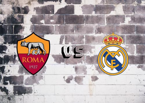 Roma vs Real Madrid  Resumen Y Partido Completo