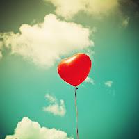 imagen de un globo én forma de corazón