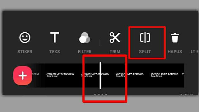 Cara Membuat Efek Teks Bergerak atau bergelombang di InShot
