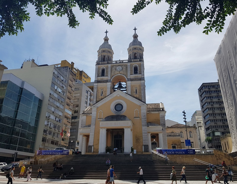Praça XV de novembro, Catedral Metropolitana de Florianópolis