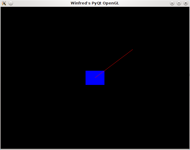 Winfred C  H  Lu: Writing Your First PyQt4 OpenGL Program
