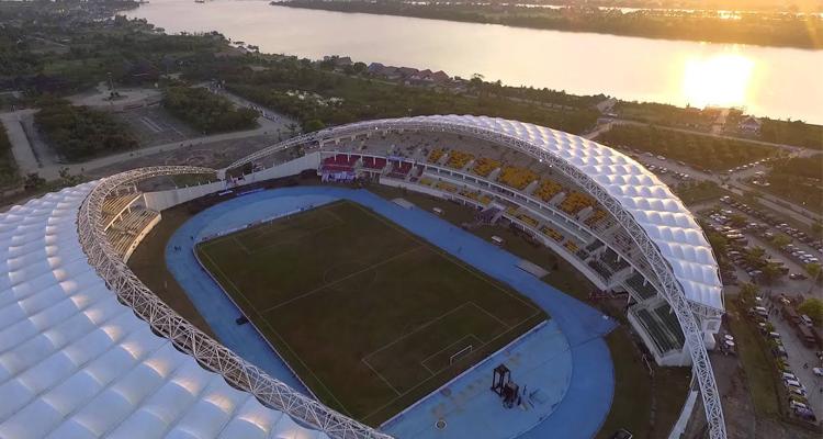 desain stadion aji imbut