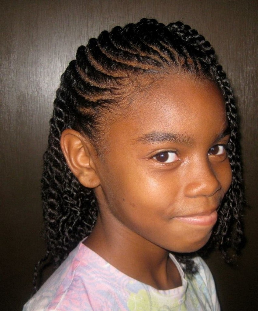Outstanding Cute Braided Hairstyles For Black Girls Trends Hairstyle Short Hairstyles Gunalazisus