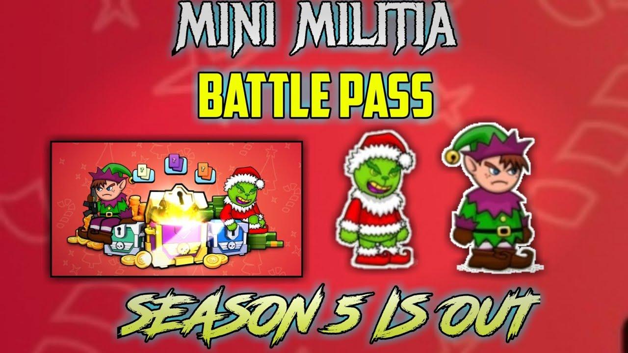 mini militia battlepass season 5