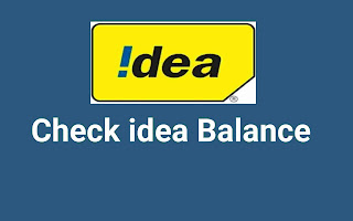 idea balance check codes, idea Data balance check