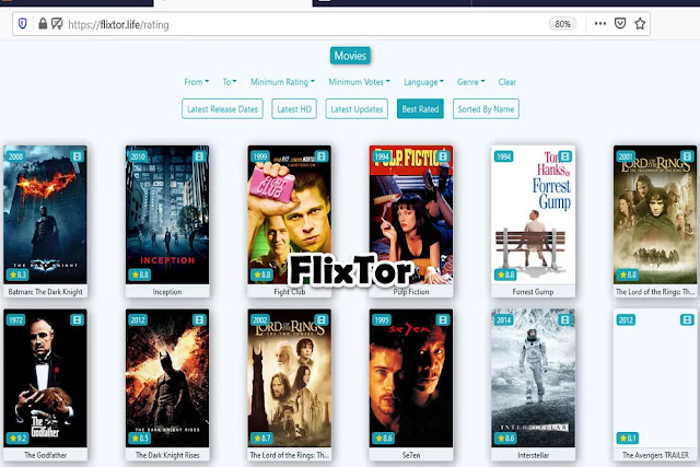 FlixTor : Free Movie Streaming Sites No Sign Up