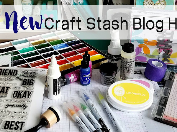 """New"" Craft Stash Hop, Day Two - Painted Desert Watercolor"
