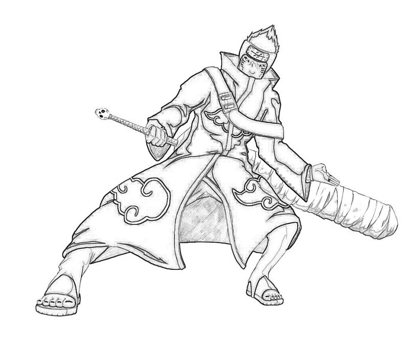 Top 25 Free Printable Naruto Coloring Pages Online   667x800