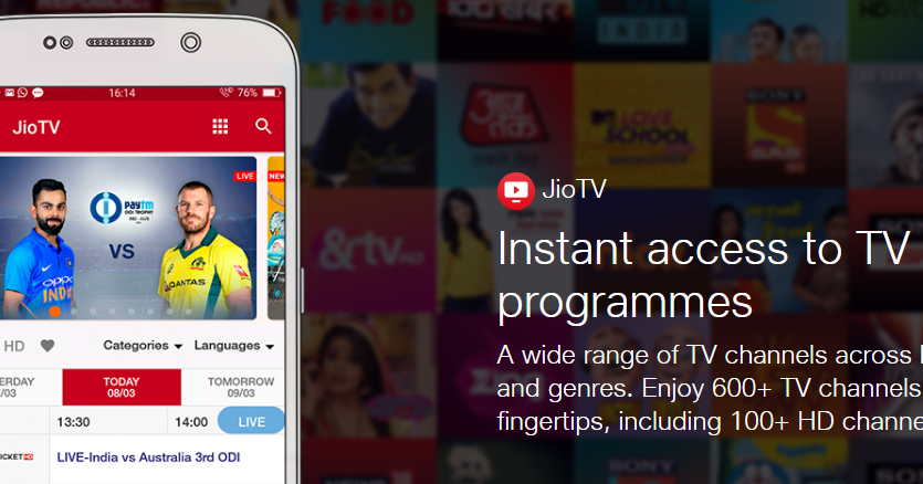 Jio TV Web Extension to Watch Jio TV Live on PC FREE   Free