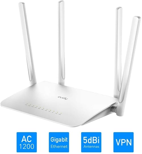 Review Cudy WR1300 AC1200 Gigabit Smart WiFi Router