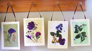 Pressed Flower Cards