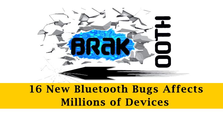 BRAKTOOTH – 16 New Bluetooth Bugs Let Hackers Execute Arbitrary Code & DDoS on Millions of Devices