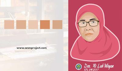 palet warna kulit