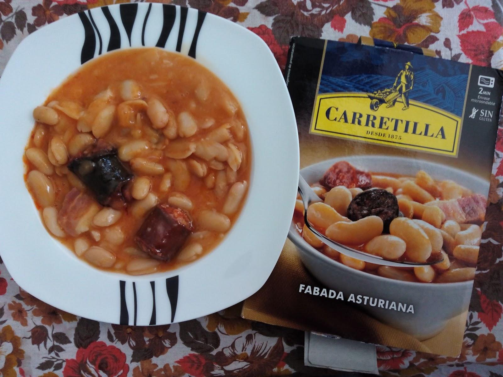 La buscadora de internet carretilla cocina por nosotros for Como cocinar fabada asturiana