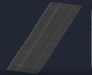 Corridor Surface in Autodesk Civil 3D