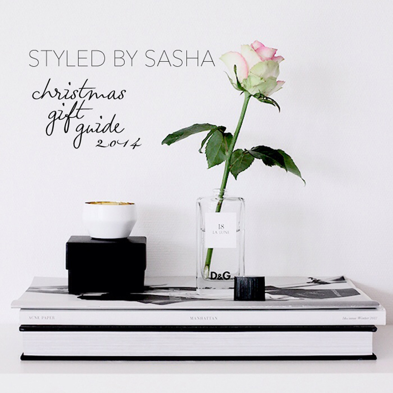 What to buy for Christmas: gift guide for 2014 by Styled by Sasha
