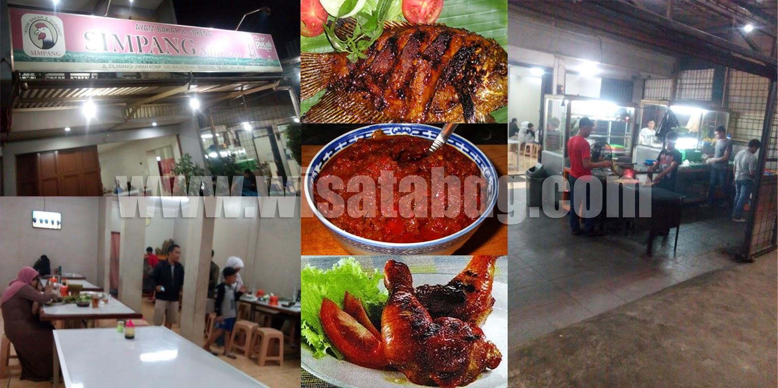rumah makan ayam dan ikan bakar Simpang Baleendah Kab. Bandung