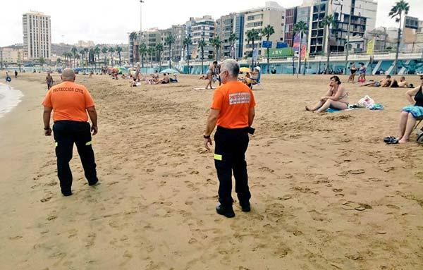 La playa de Las Acaravaneras ha sido cerrada por niveles altos de bacterias Escherichia Coli