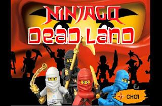 Chơi game ninja lego phiêu lưu hay nhất