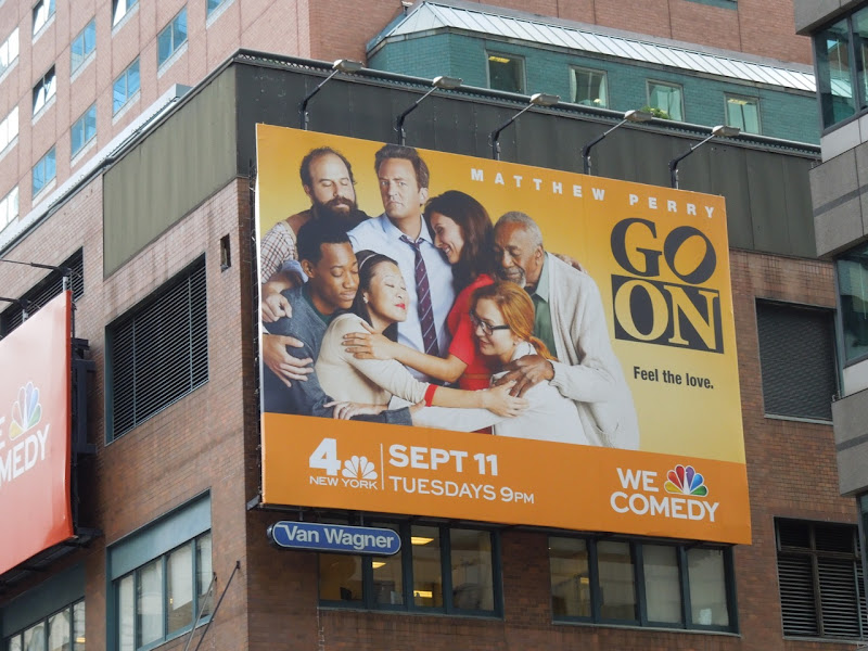 Go On billboard Broadway NYC
