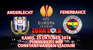 Prediksi Bola Anderlecht vs Fenerbahce 25 Oktober 2018
