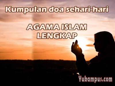 doa sehari hari agama islam
