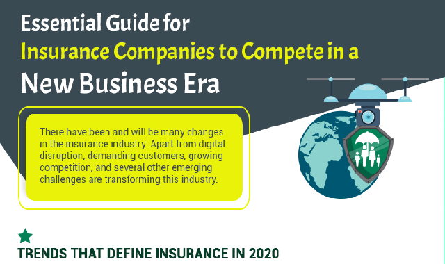 Essential Guide for Insurance Companies to Compete in a New Business Era  #infographic