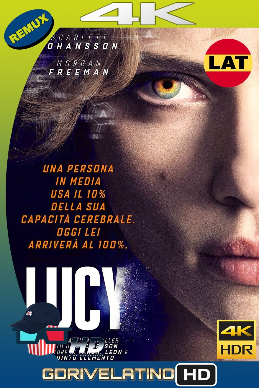 Lucy (2014) REMUX 4K HDR Latino-Inglés MKV