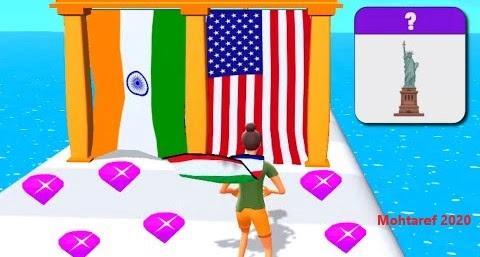 تحميل لعبة collect flag للاندرويد