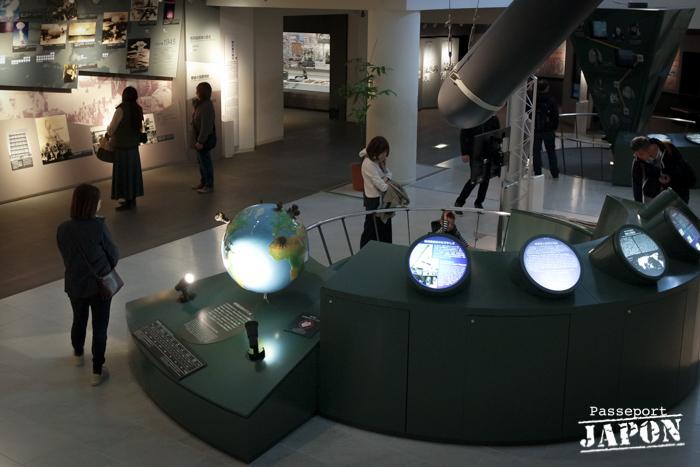Muséographie contemporaine, musée de la bombe atomique, Nagasaki