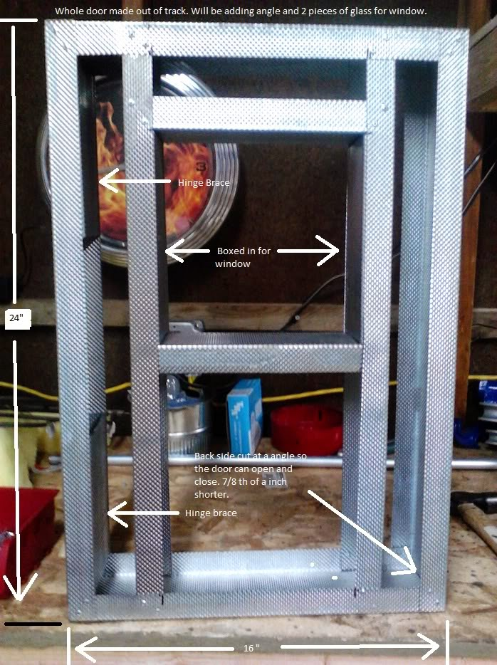 Powder Coating Oven Access Door
