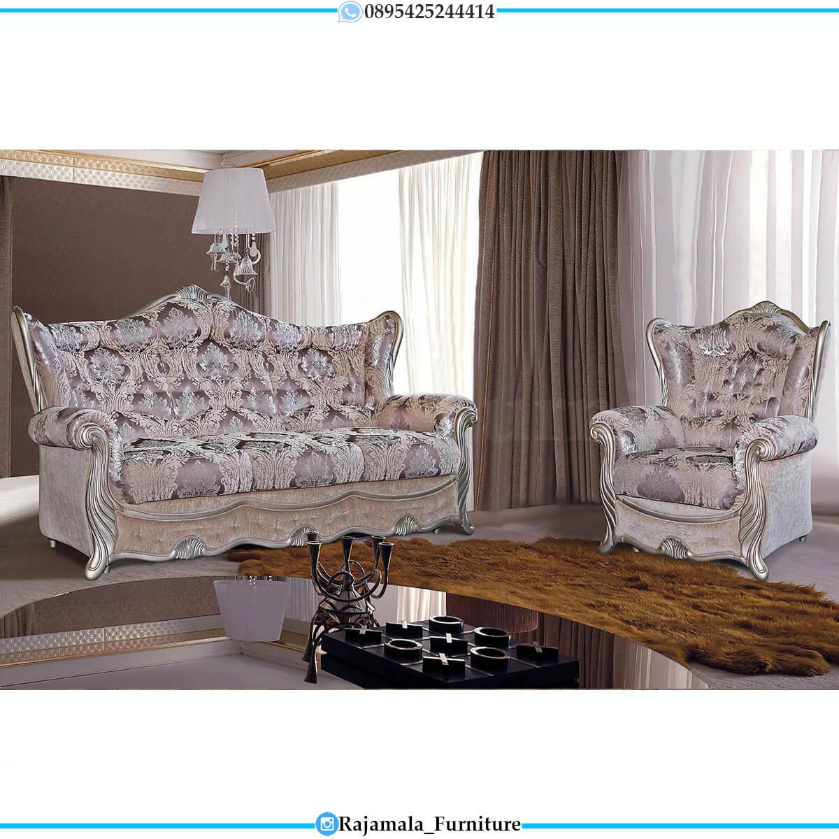 Harga Sofa Tamu Mewah Jepara Glorious Carving Set RM-0750