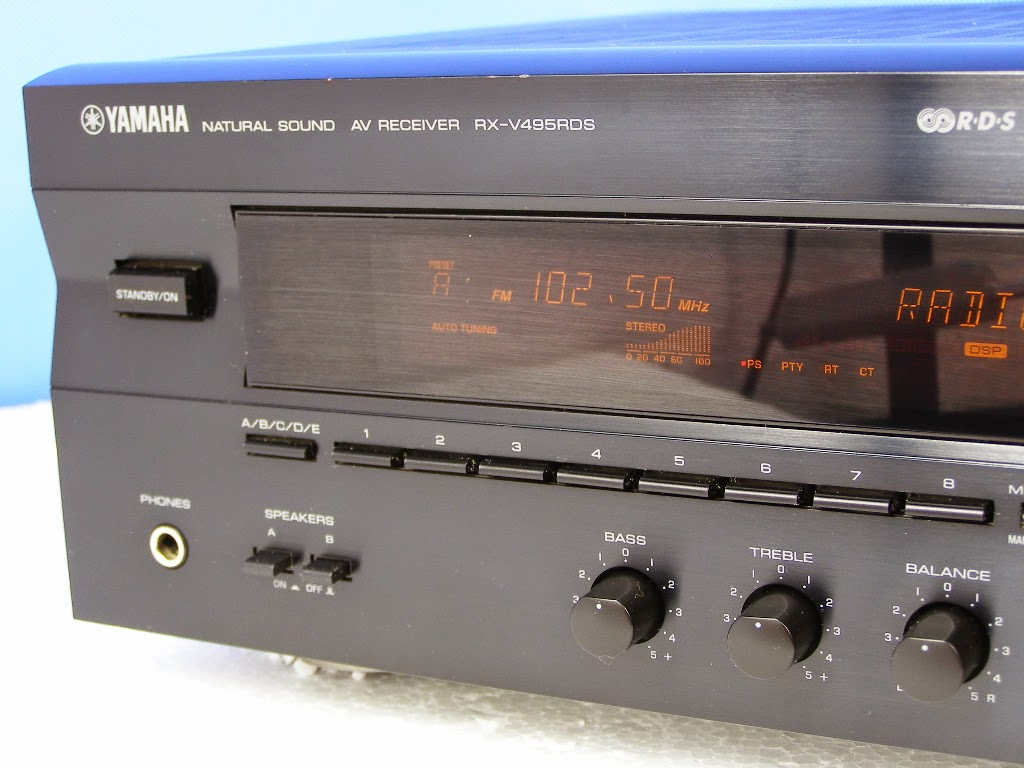 yamaha rx v495rds av receiver audiobaza. Black Bedroom Furniture Sets. Home Design Ideas