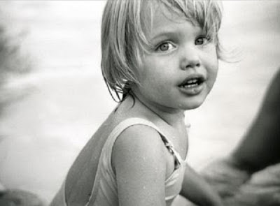 Young Angelina Jolie Childhood Photo