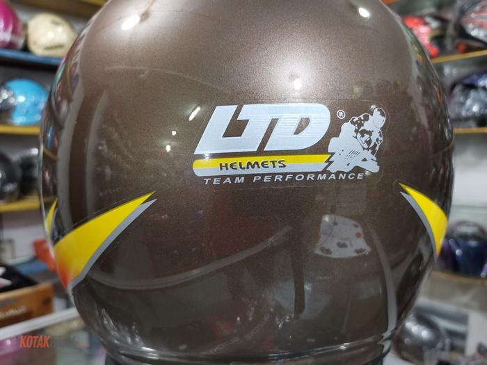 stiker LTD sport asli dibelakang