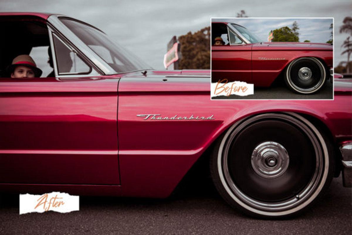 15 Automotive Mood Lightroom Presets V.2 4570092