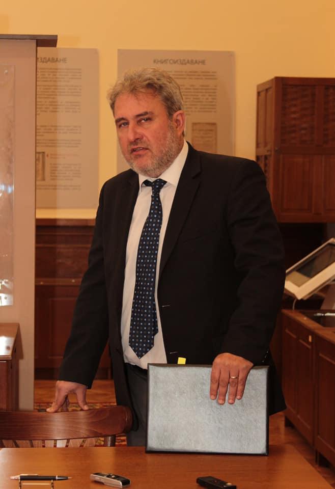 Боил Банов се срещна с представители на частни културни организации у нас
