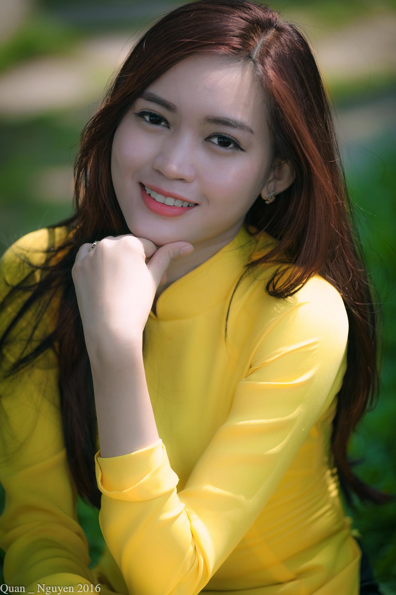 Tuyển tập girl xinh gái đẹp Việt Nam mặc áo dài đẹp mê hồn #60 - 6