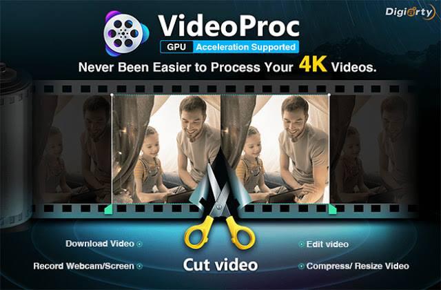 افضل برنامج فى معالجه وتحرير و تغيير حجم الفديو برنامج VideoProc