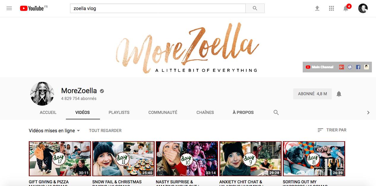 https://www.youtube.com/user/MoreZoella/videos