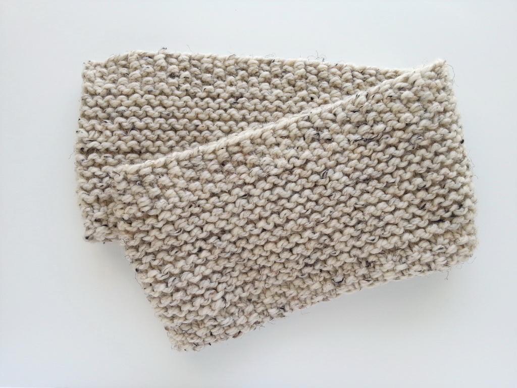 My Handmade Home: Knitting: Garter & Seed Stitch Cowl