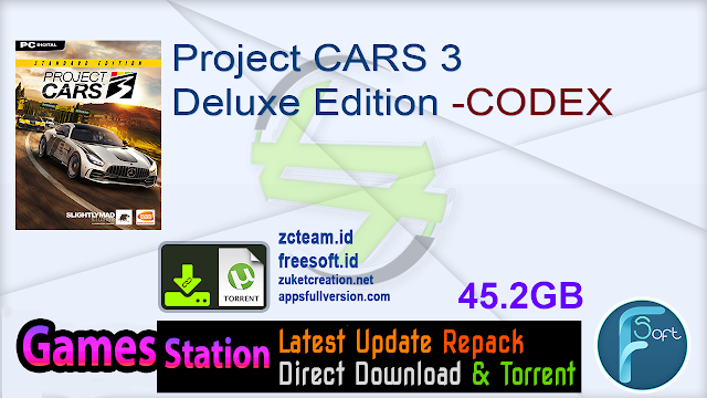 Project CARS 3 Deluxe Edition -CODEX