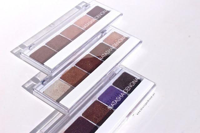 natasha denona eyeshadow swatches