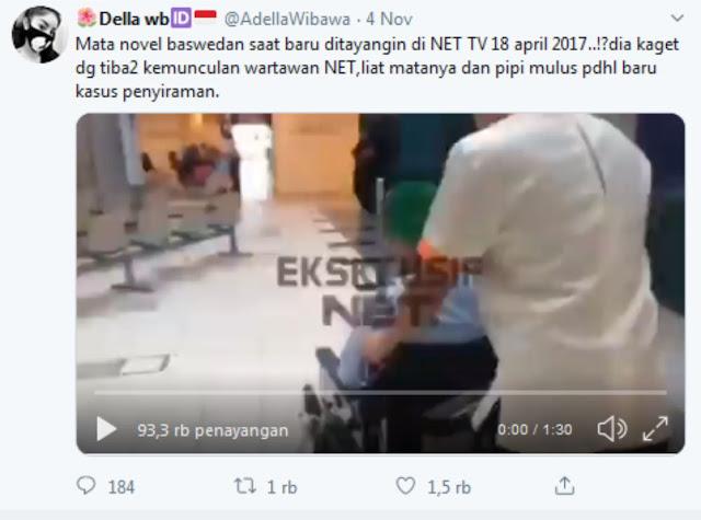 Pegawai KPK Siap Laporkan Akun Medsos @AdellaWibawa yang Tuduh Novel Baswedan Rekayasa Kasus