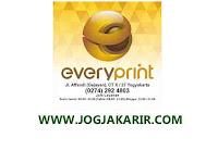 Loker Jogja Customer Service Perusahaan Digital Printing di EveryPrint