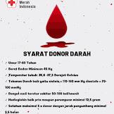 Donor darah Seni Beramal Ibadah