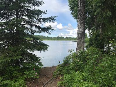 Gorgeous View of Willow Creek, Willow Alaska